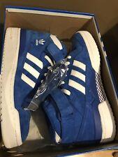 Adidas Forum Mid Suede Blue White New Rare