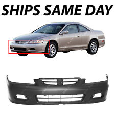NEW Primered - Front Bumper Cover for 2001 2002 Honda Accord Coupe 2 Door 01-02