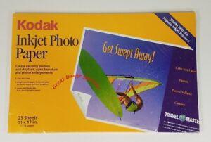 NIP Kodak 11 inch x 17 inch inkjet photo paper 25 pack Sealed