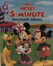 Disney Junior Mickey 5-Minute Storybook Library 12 Books Boxed Set NEW
