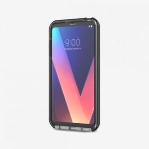 Tech21 Evo Check Ultra-thin Case for LG V30 / V30+ / V35 ThinQ Smokey/Black