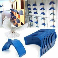 New listing 20pcs Plastic Pigeon Dove Grill Rest Stand Frame Dwelling Pigeon Perches Roost