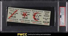 1969 Woodstock Full Three Day Ticket Music & Art Fair PSA 10 GEM MINT