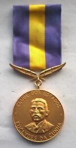 "Brazil ""Conhecamos O Brasil"" Brass Medal,UNC"