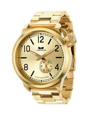 New VESTAL CTN3M04 Canteen Metal Brushed Gold Men's Watch