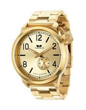CRAZY SALE: New VESTAL CTN3M04 Canteen Metal Brushed Gold Men's Watch