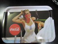 "Coca Cola Rectangle Tray ""Beach Babies"" - New - Replica"