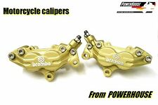 Aprilia Brembo Goldline front brake calipers refurbishment service