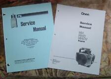 CUB CADET 582 582S 682 782 & 982 SERVICE MANUALS SET 4