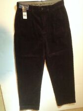 NWT POLO RALPH LAUREN DARK BROWN CORDOROY PANTS-SIZE 30-30