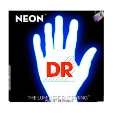 DR Strings K3 NEON Hi-Def WHITE BASS NWB6-30 30-125 Six String Bass Set