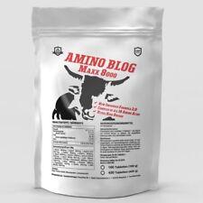 BCAA + GLUTAMINE 8000 - 160 Tablets Mega Amino Acids PROTEIN  BODYBUILDING PACK
