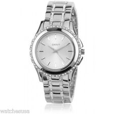 DKNY Silver Dial Stainless Steel Ladies Watch NY8698