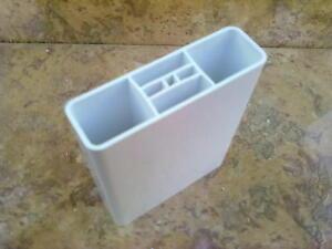 1A Zaunlatten Gartenzaun Kunststoffzaun Balkonbretter PVC 85x25x2mm Weiß 85 cm