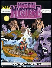 TUTTO MARTIN MYSTERE - N° 82 - FEBBRAIO 1996 - BONELLI - CONDIZIONE OTTIMO