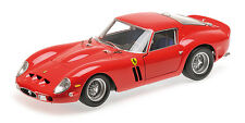 1962 FERRARI 250 GTO RED HIGH END LTD ED 540PCS 1/18 DIECAST BY KYOSHO 8437R0