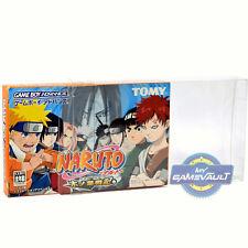 3 x Japan Game Boy Advance Box Protectors 0.4mm Plastic Display Case Japanese