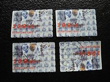 PAYS-BAS - timbre yvert et tellier n° 1615 x4 obl (A30) stamp netherlands (M)