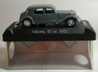 SOLIDO 1:43 SCALE DIECAST 1952 CITROEN 15 CV - GREY - CASED