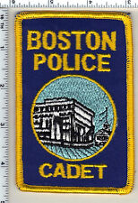 Boston Police (Massachusetts) Cadet Shoulder Patch - from 1985