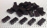 Lego 2x4 Black Brick (3001) x10 in a set *BRAND NEW* City Star Wars Marvel