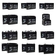 2 12v AGM/GEL MOBILITY SCOOTER BATTERIES 1012AH 15AH 22 33 36 40 50AH 75AH 100AH
