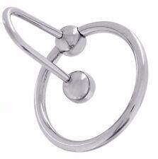 Anello Fallico con tappo blocca sperma sperm stopper 28 mm plug per pene uretra