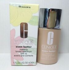 Clinique Even Better Makeup Spf 15 Foundation 1.0 oz Full Size 05 Neutral