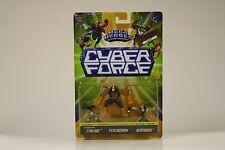 Mega Heroes Cyber Force - 1995 Mattel - Top Cow CYBLADE HEATWAVE PSYCHOTRON MIB