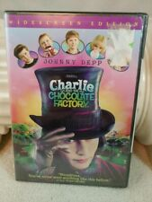 New ListingCharlie and the Chocolate Factory (Dvd, 2005, Widescreen) Johnny Depp New