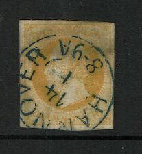 Hanover SC# 22, Used, 8-9A Cancel, some piece remnant - Lot 073117