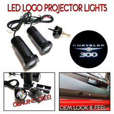 2Pc Lumenz 100637 LED Logo Projectors Ghost Shadow Lights for CHRYSLER 300