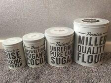 L'Original Mason Cash Baker street LOT DE 4 Nesting Storage Tins