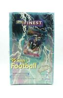 1995 Topps Finest NFL Football Cards Series 1 Factory Sealed Box 24 packs RARE