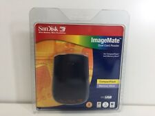 Sandisk Image Mate Dual Card Reader Compact Flash/ Memory smart media SDDR-77-07