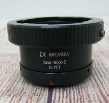 RAFCAMERA Kinor-16SX-2 lens to MFT camera mount adapter, w/ bayonet lock - Used