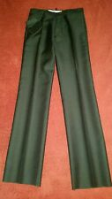 $995.00 DSQUARED2 Silk and Wool Men's Flared Leg  Slacks IT 46  Size 30