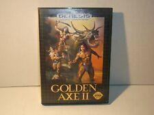CIB Golden Axe II (Sega Genesis, 1991) Complete *TESTED* Great Condition