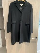 Ladies Bill Blass Suits Long Black Jacket Size 14 Formal