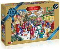 Gibsons Top quaility 1000 piece Limited Edition Jigsaw Puzzle, Secret Santa