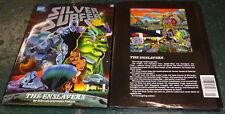 Silver Surfer The Enslavers Marvel 1990 First Printing Graphic Novel Stan Lee VF