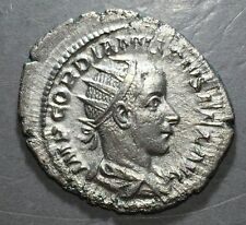 ANCIENT ROME Gordian III 238-244 AD  Silver   ROME MINT  #A174
