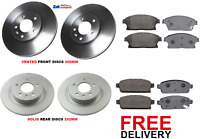 FOR CHEVROLET ORLANDO 2010 / 2015 FRONT AND REAR BRAKE DISCS AND PADS SET  *NEW*