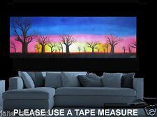 250cm x 80 Huge  Boab Tree Sunset  Australian Landscape original Painting Art