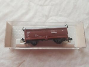A Model German Covered Wagon In N Gauge By Fleischmann Boxed No 8323