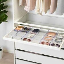 Brand New IKEA KOMPLEMENT Transparent Drawer Storage Organiser 100cm x 58cm