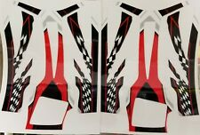RTR Cheetah Aeolos chassis decals-Red/Checker