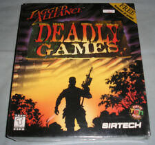 Jagged Alliance: Deadly Games - PC Computer CD Video Game NEW in SEALED BIG BOX!