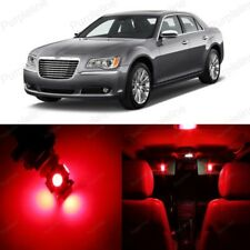 19 x Red LED Interior Light Package For 2011- 2018 Chrysler 300 300C +PRY TOOL