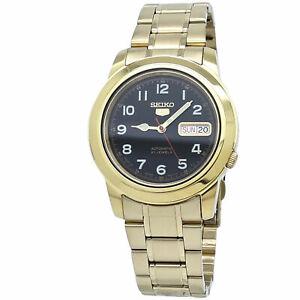 Seiko 5 Automatic Black Dial Men's Watch SNKK40J1